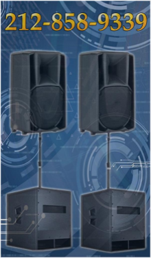 Concert sound system rental and sound system for conference room - we provide maximum for heart pounding sound
