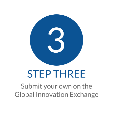Submit your own on the Global Innovation Exchange