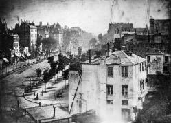 Boulevard du Temple, Daguerre