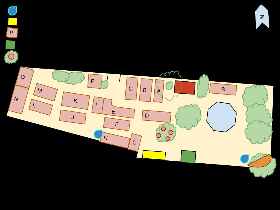 mama dees garden map