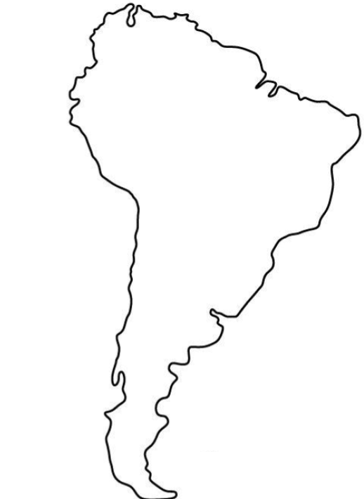 Find the Countries of S. America (No Borders Minefield