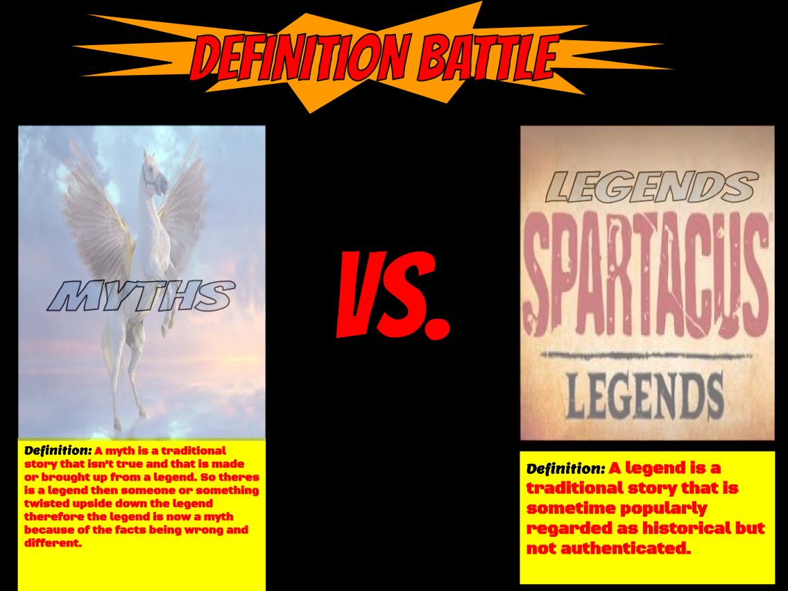 defining myths