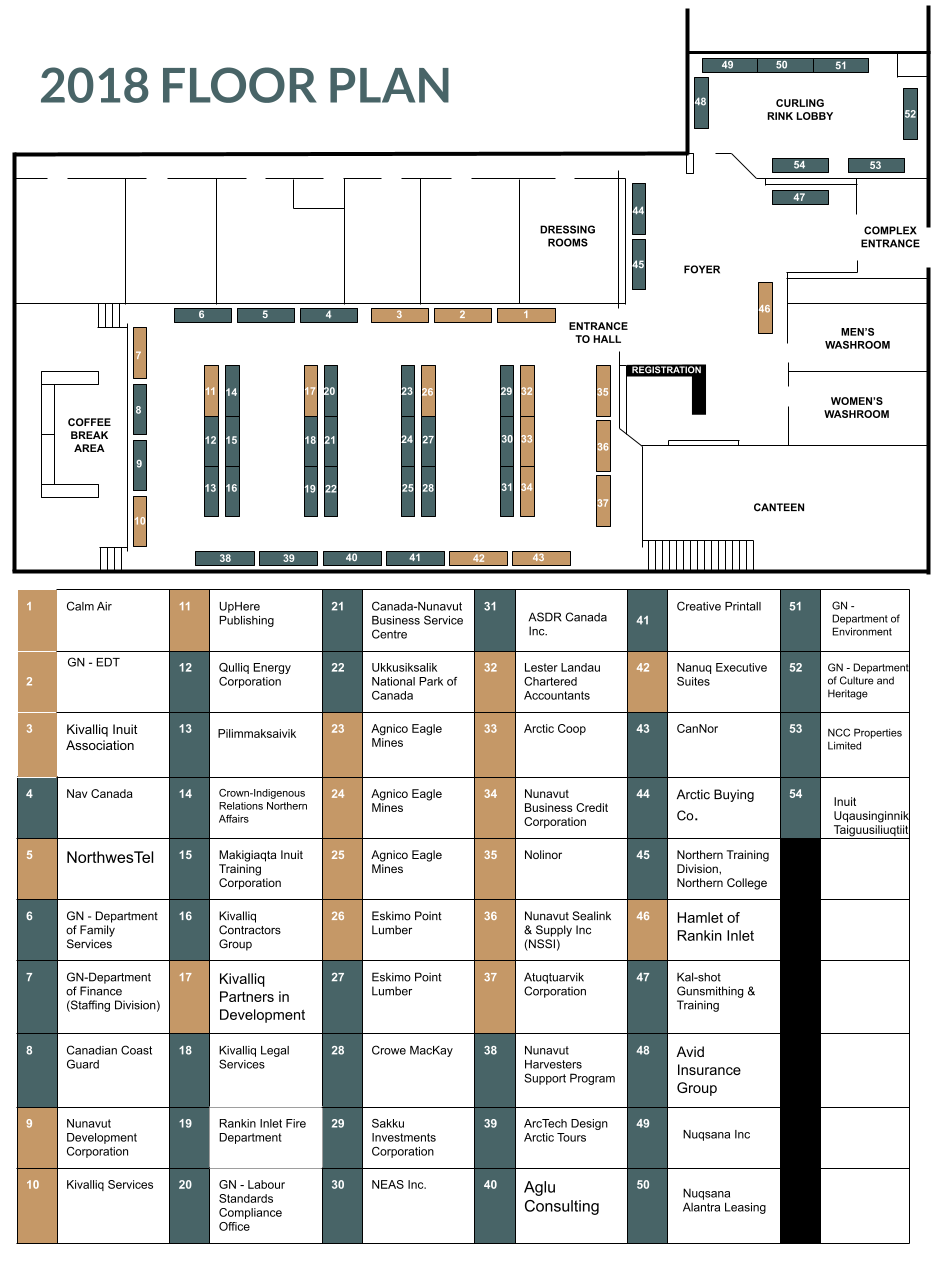 KTS Exhibitors Floor Plan (Google Doc)