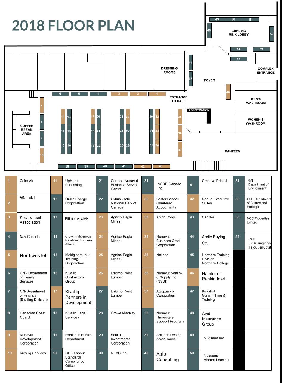 KTS Exhibitors Floor Plan (Google Doc)