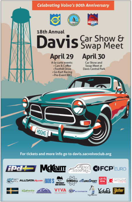 2017 Davis Meet Weekend Sponsor Poster