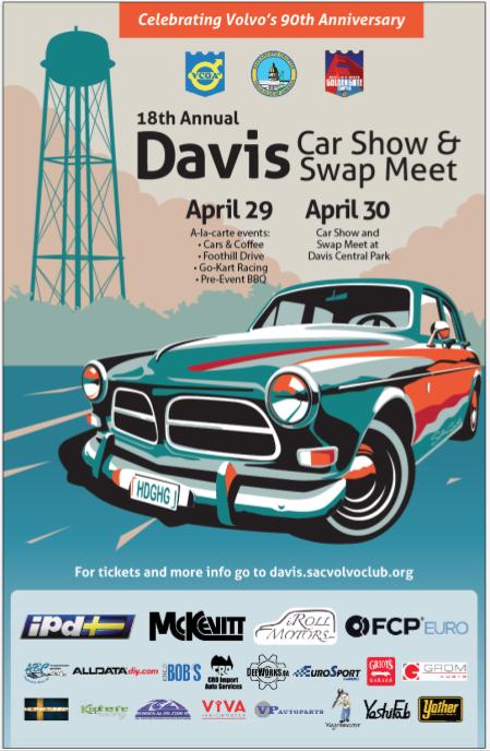 2017 Davis Meet Weekend Sponsor Poster