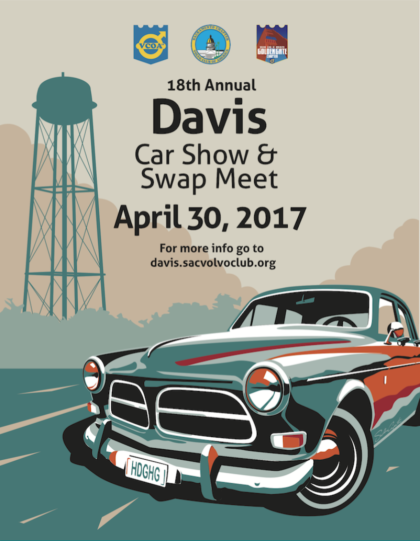 2017 Davis Meet Weekend Poster