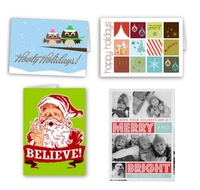 50% OFF Holiday Cards and Invitations on Zazzle
