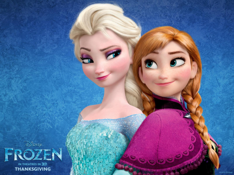 Disney's Frozen - girl-power princesses