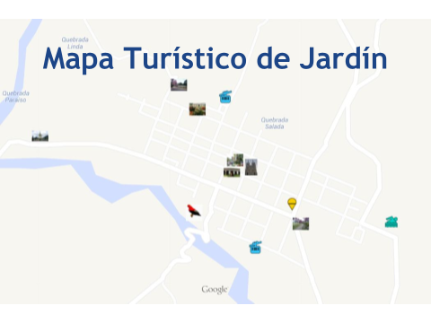 Mapa Turistico de Jardín Antioquia