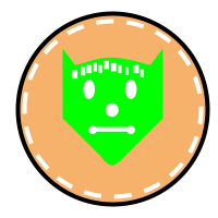 Chupacabra Badge