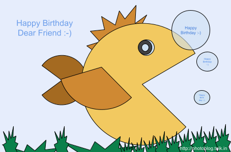 Happy Birthday Friend :-)