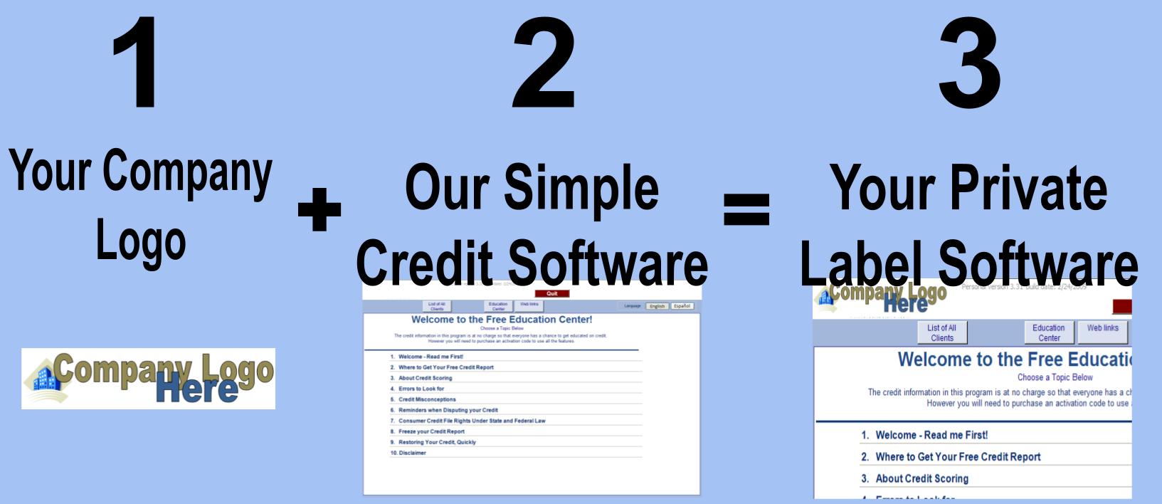 Professional Credit Repair Software