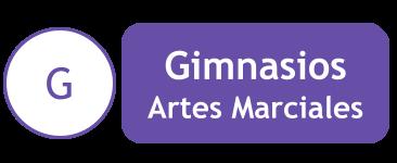 Artes Marciales gimnasios