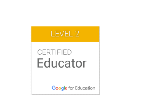 Level 2 Google Certification Badge
