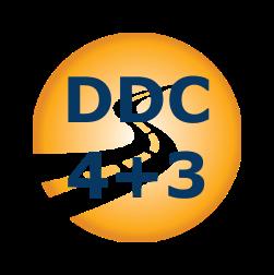 Защитное вождение 4+3 - лого