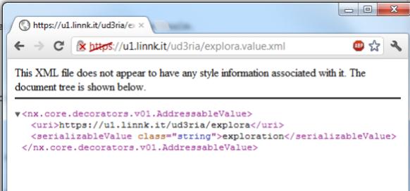 XML Value representation