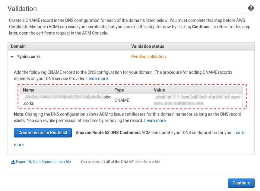 ACM Validation