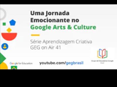 Uma Jornada Emocionante no Google Arts & Culture