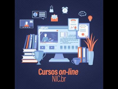 Cursos on-line NIC.br para 2021
