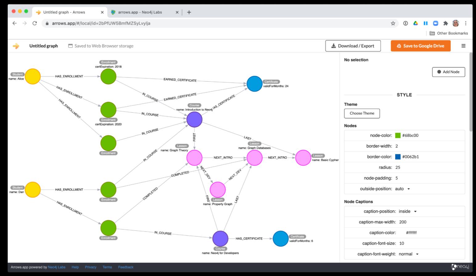 그래프 데이터 모델링 도구