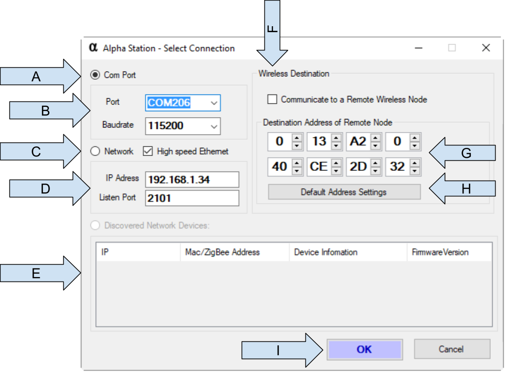 Alpha Station – Sensor and Control Software for Windows using Visual Studio