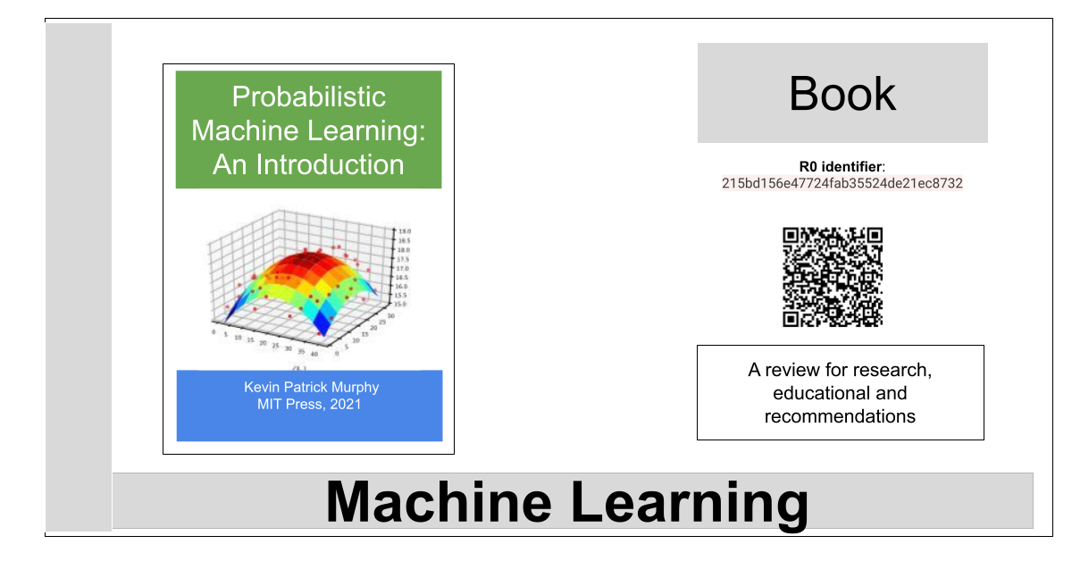 Probabilistic Machine Learning: An Introduction