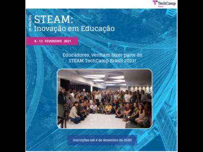 Programa STEAM TechCamp Brasil 2021
