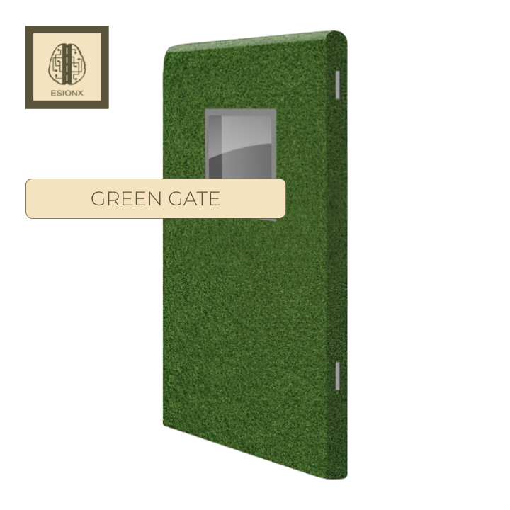 EsionX Green Door
