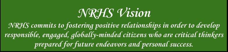 NRHS Vision Statement