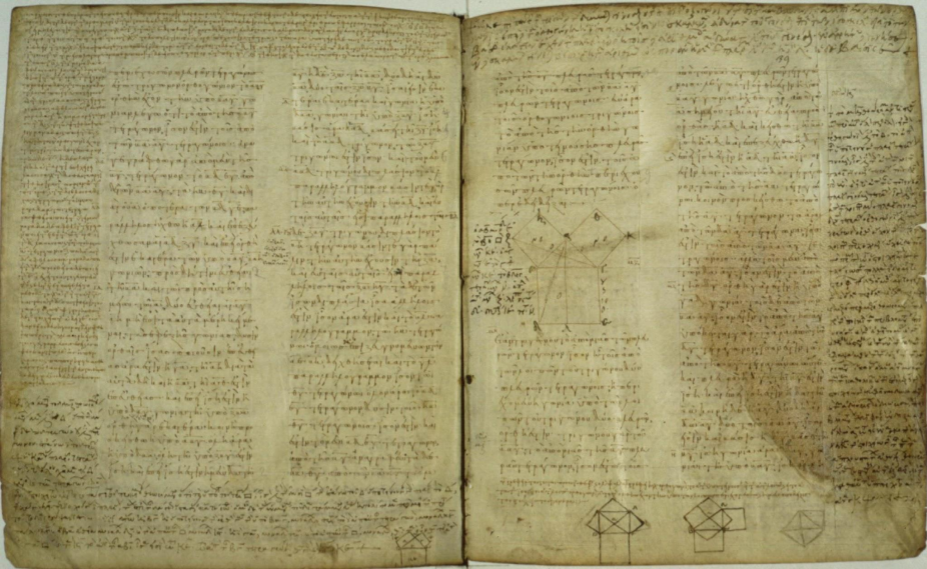 "Euclid's ""Elements,"" written about 300 B.C"