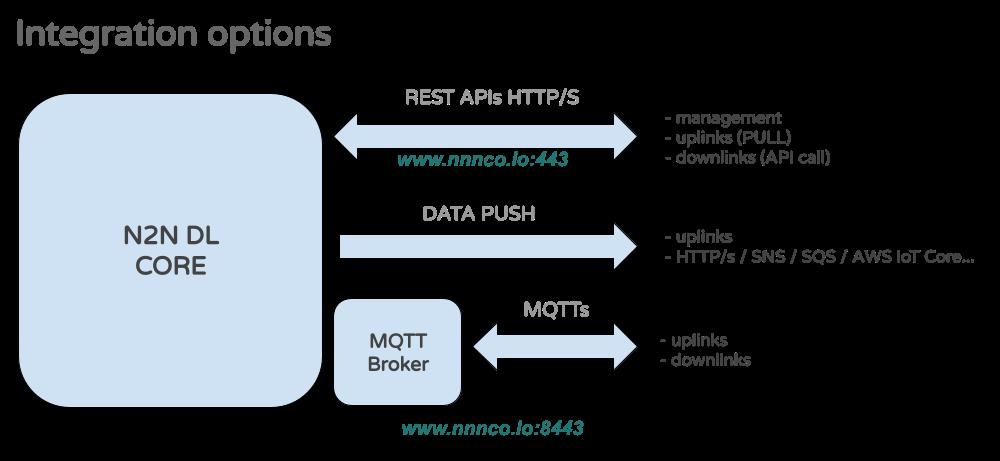 N2N DL Integration Options