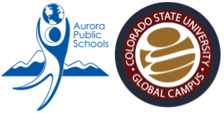 APS and CSU-Global logos