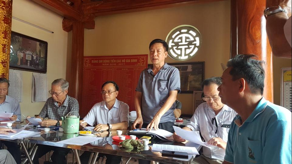 Ông Dương Dũng – Chủ tịch Hội đồng Họ Dương liên quận Gia Lâm – Long Biên
