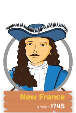 New France 1745