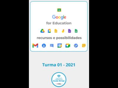 Google for Education: recursos e possibilidades