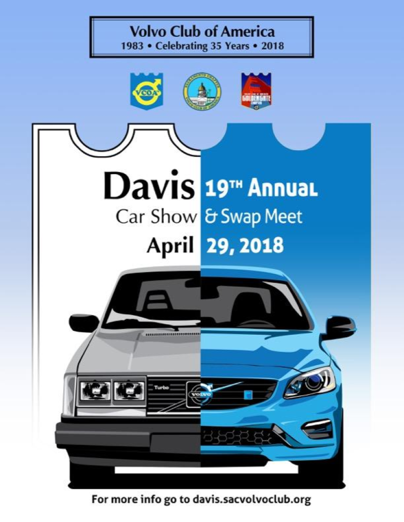 2018 Davis Meet Weekend Poster