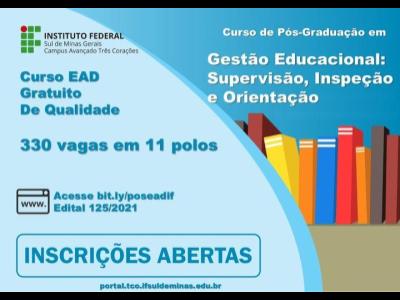 Pós-Graduação Lato Sensu em Gestão Educacional