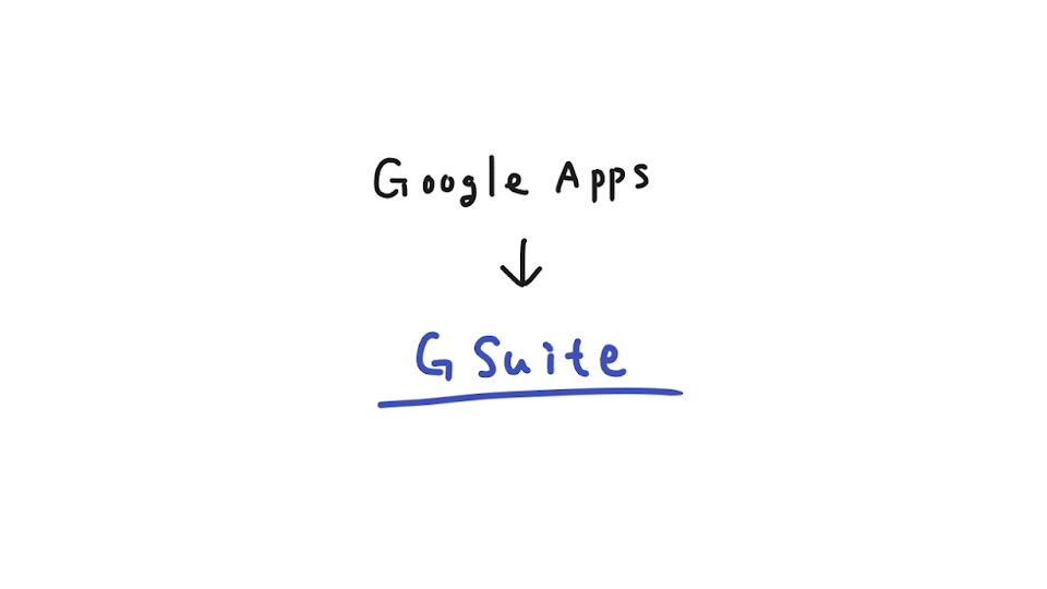 Google Apps for WorkがG Suiteへ名称変更