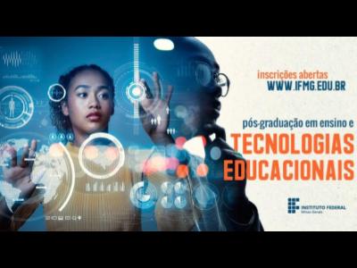 Inscrições abertas para Pós-graduação em Ensino e Tecnologias Educacionais