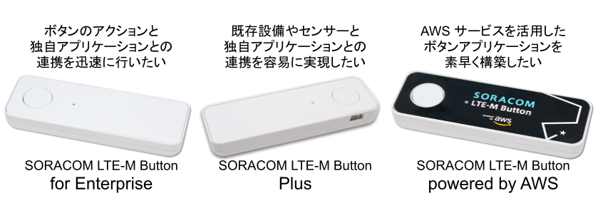 SORACOM LTE-M Button / table