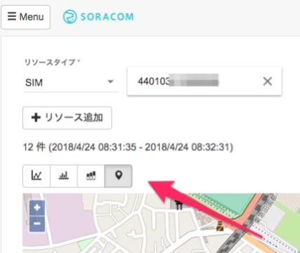 SORACOM Harvest で位置情報データをサポートしました