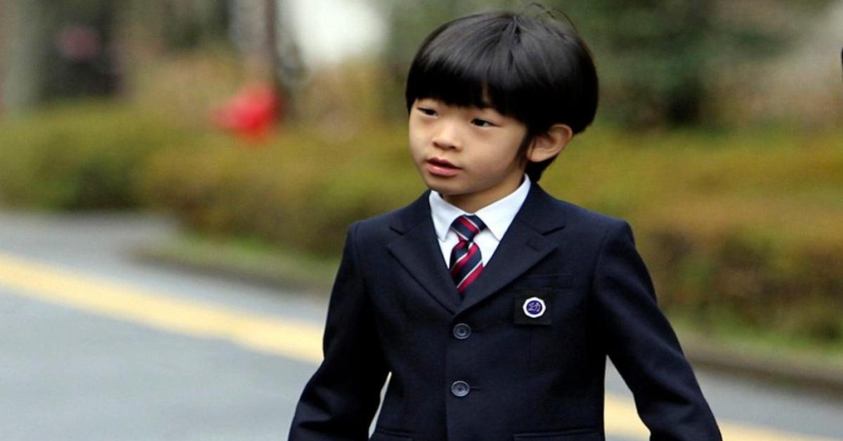 Hoàng tử Nhật Bản Hisahito. Ảnh: Internet