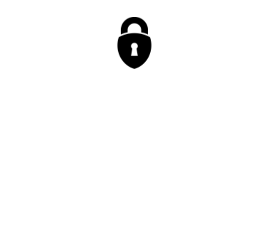 GDPR compliance logo white transparent