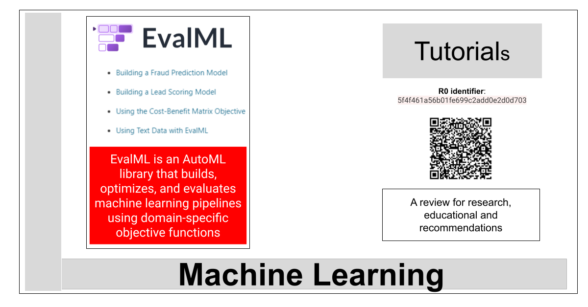 R0:5f4f461a56b01fe699c2add0e2d0d703-EvalML: a library for automated machine learning and model understanding