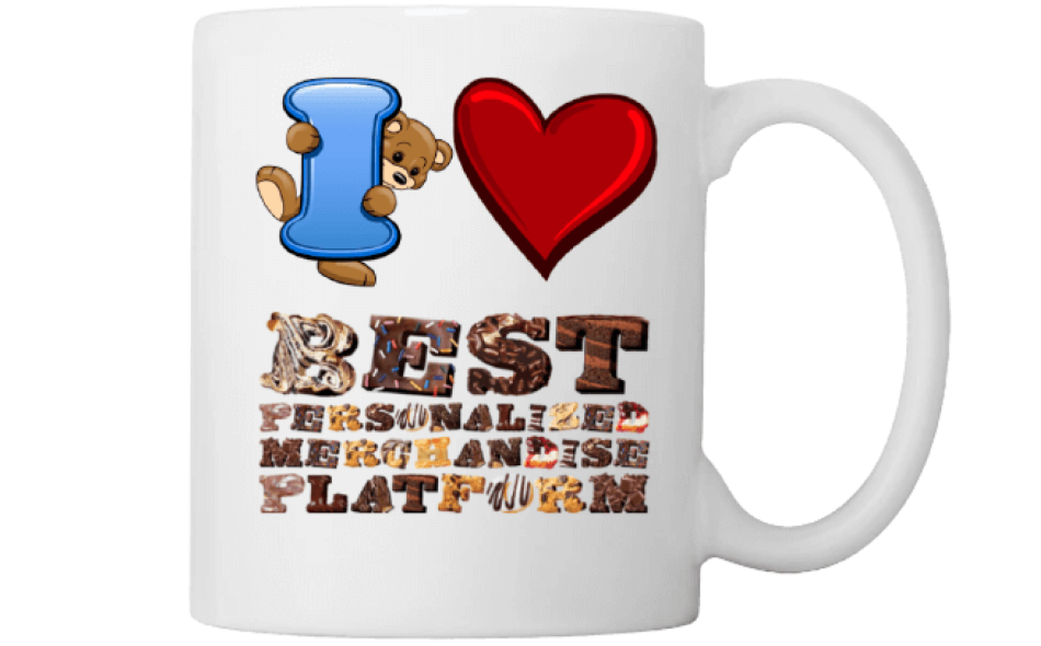 I Love Best Personalized Merchandise Platform