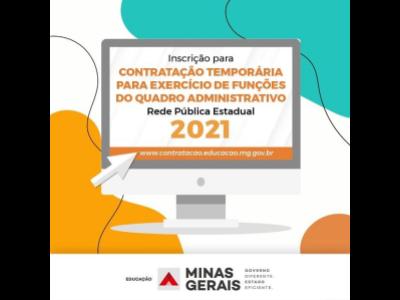 SEE abre inscrições para processo de contratação temporária para atuação no quadro administrativo na rede estadual de ensino