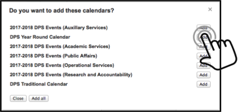 Dps Calendar.Add Shared Calendar To Google Account