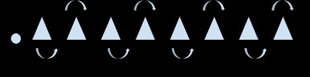 cone weave drill diagram (Individual soccer drills)