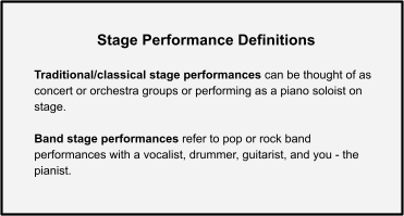 Stage Performance Definitions